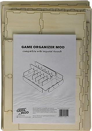 Geekmod gemins03 Organizador Compatible con Imperial Assault Juego de Cartas: Amazon.es: Juguetes y juegos