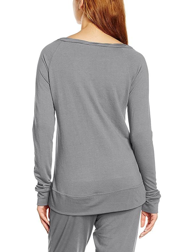 LingaDore Women s Serena Demi Jogging Sweatshirt Pyjama Top  Amazon.co.uk   Clothing edba68ca8f7