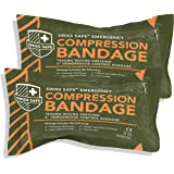 "Israeli 6"" Compression Bandage [STERILE]: Authentic Compact Design for Emergency Wound Dressing, First Aid and Trauma…"