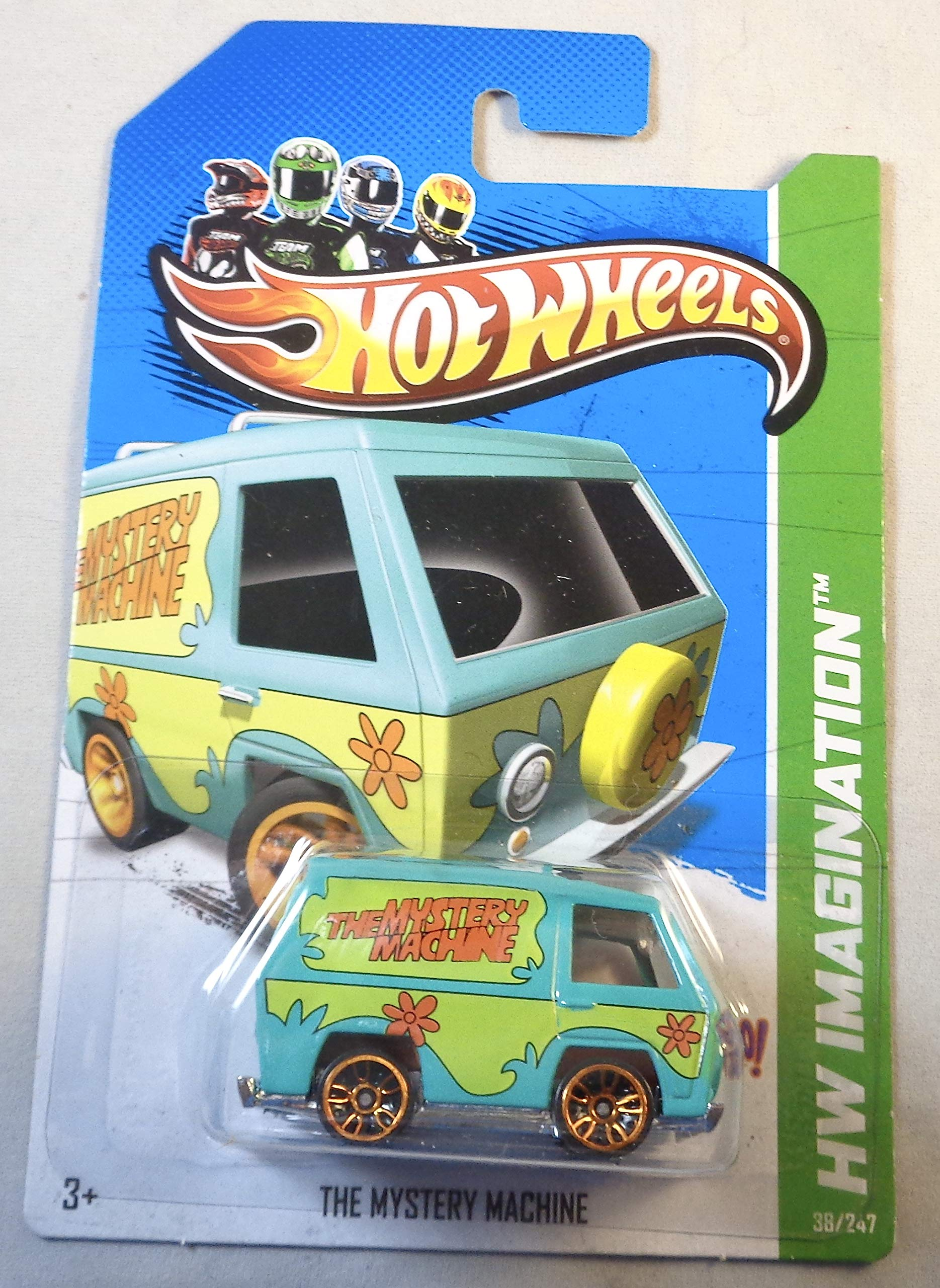 Hot Wheels, 2012 HW Imagination, Scooby Doo! La máquina misteriosa verde 38/247
