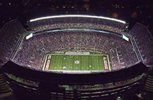 "Photo Metallic Photography Poster - Aerial View of The University of Alabama Football Stadium Tuscaloosa Alabama 16""x24"""