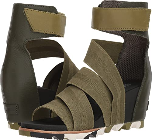 5df86e9be25e SOREL Women s Joanie Gladiator II Olive Drab 6 B US  Amazon.ca  Shoes    Handbags