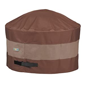 Duck Covers Ultimate Round Fire Pit Cover, 50-inch