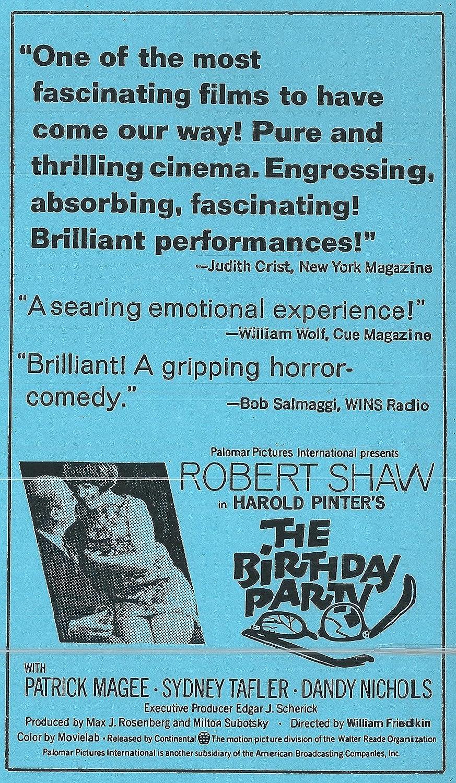 Amazon.com: Birthday Party [VHS]: Motorhead: Movies & TV