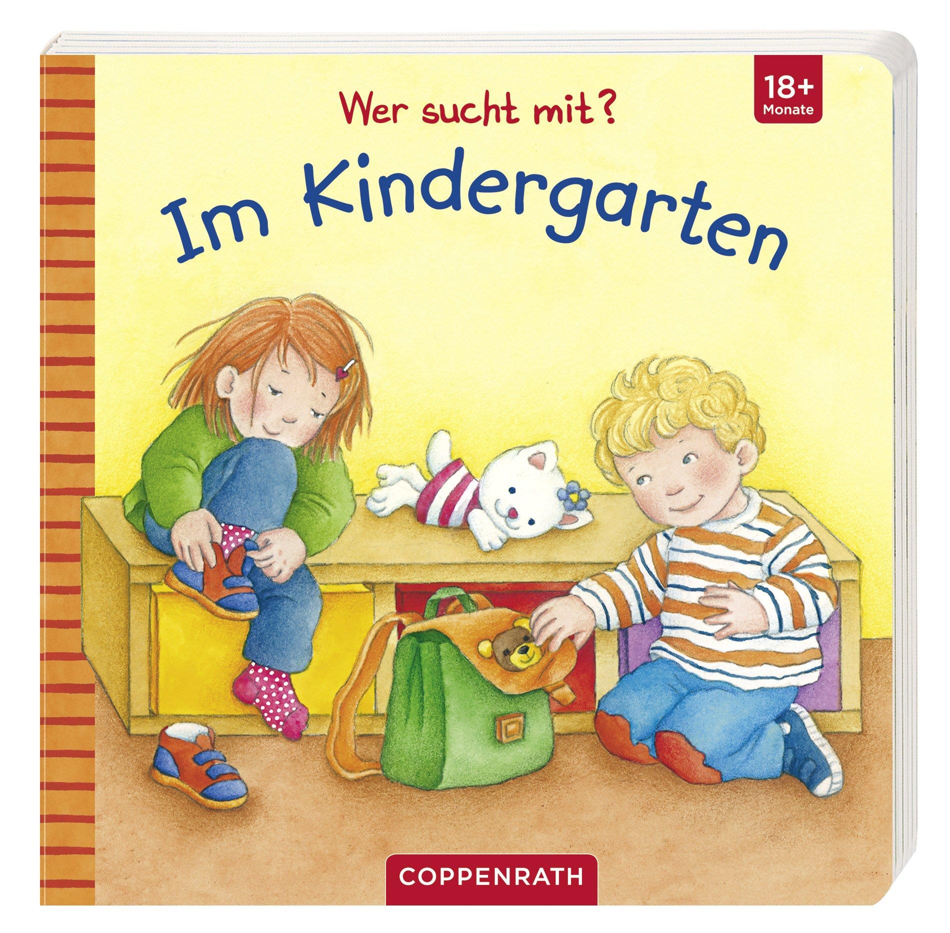 Wer sucht mit? Im Kindergarten Gebundenes Buch – 1. September 2012 Barbara Jelenkovich Coppenrath F 3649610418