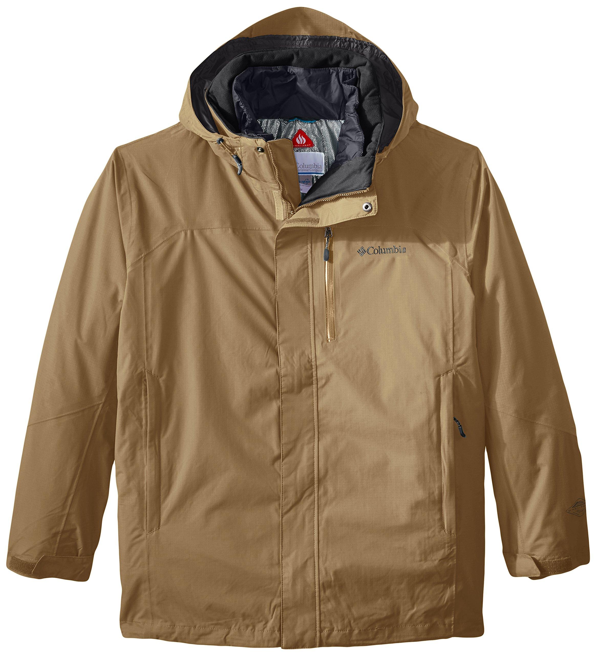 Columbia Men's Lhotse II Interchange Jacket, Delta, XX-Large