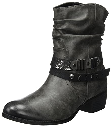 low priced d2672 a7b7c MARCO TOZZI Damen 25306 Biker Boots