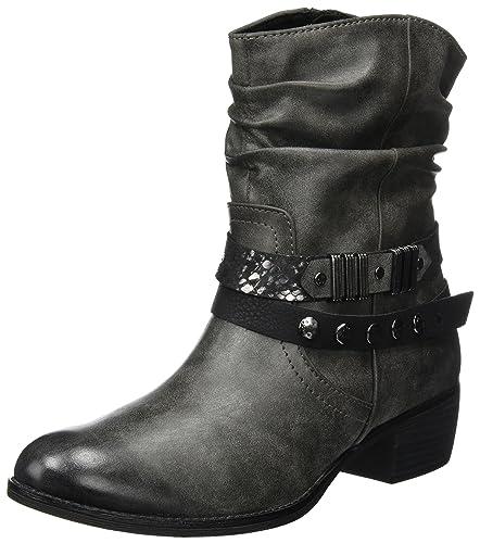 Femme Chaussures Motardes Sacs Tozzi 25306 Marco Et Bottes TUIffF