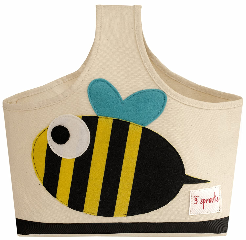 Amazon.com : 3 Sprouts Storage Caddy, Bee, Black/Yellow : Diaper ...