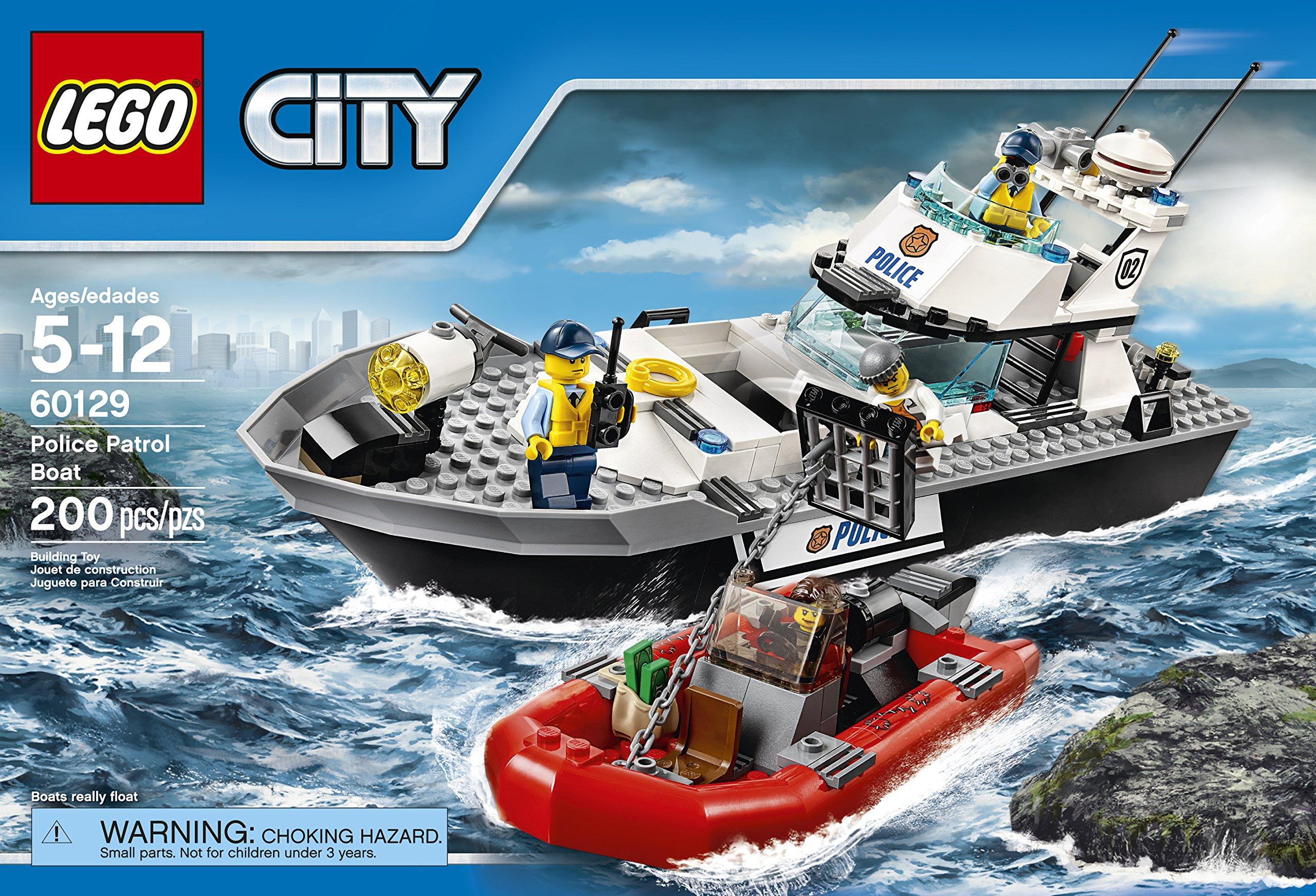 lego police boat instructions 60129