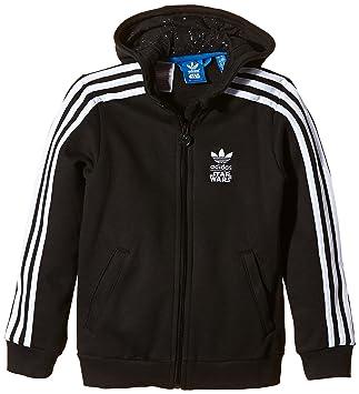 chaqueta negra adidas niña