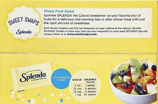 Amazon Splenda No Calorie Sweetener 200 Count Packets 141