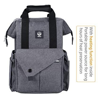 Amazon.com: unihope bolsa de pañales de bebé mochila w ...
