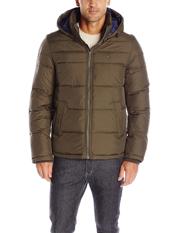 Tommy Hilfiger Men's Down Alternative Outerwear Coat 156AN122