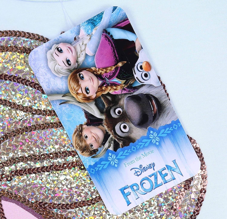 Il Regno di Ghiaccio t-Shirt Elsa Frozen Maglietta Azzurra