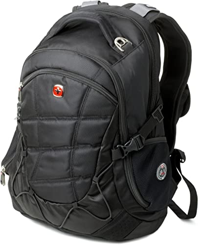 Swiss Gear SA9769 Black Laptop Backpack – Fits Most 15 Inch Laptops and Tablets