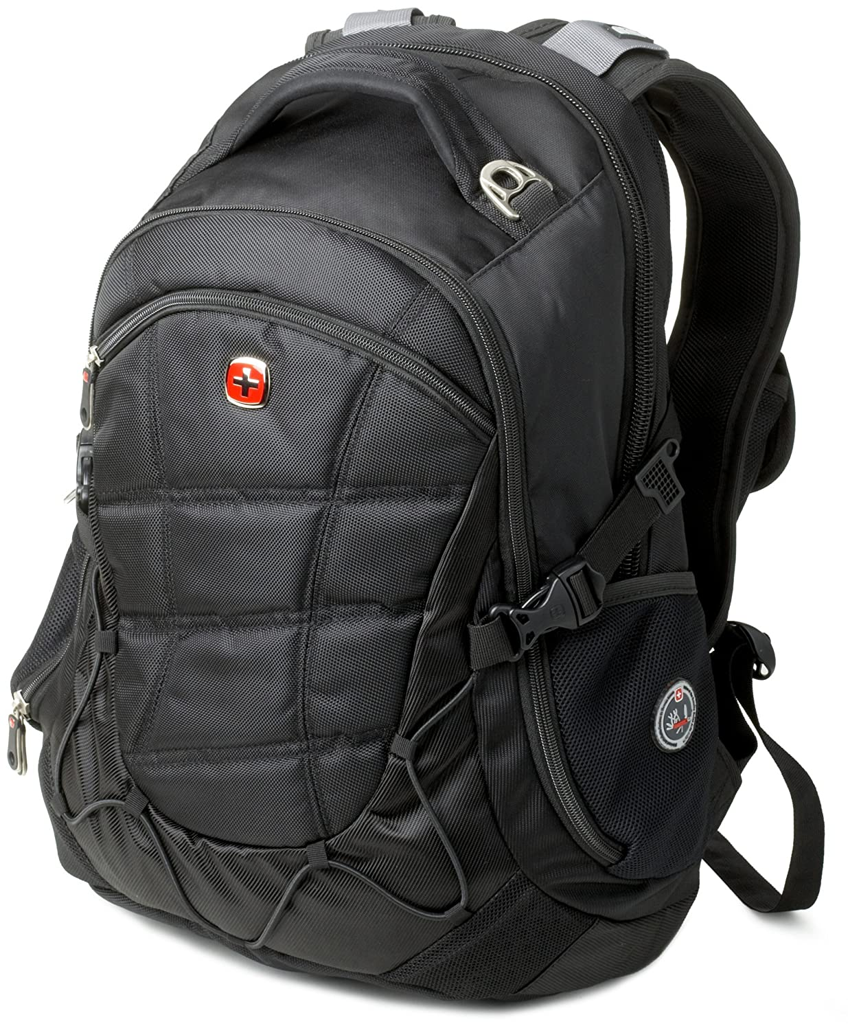Amazon.com: SwissGear SA9769 Black Laptop Backpack - Fits Most 15 ...