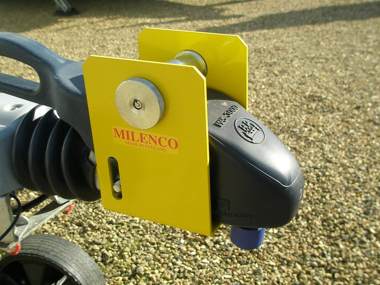 Blocco per Gancio di Traino ad Alta Resistenza per Camper Winterhoff WS3000. Milenco