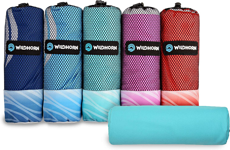 Super Thin Absorbent Microfiber Drying Beach Towel Swimwear Wrap Blanket Tool LC