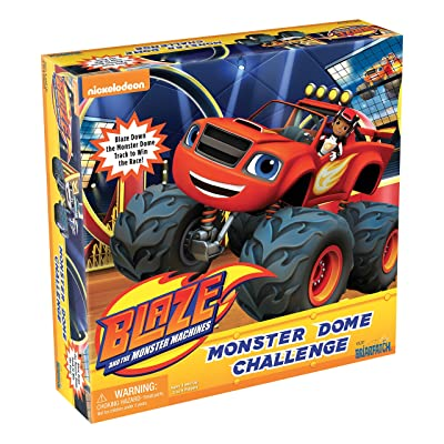 Blaze and the Monster Machines Monster Dome Challenge Game: Toys & Games