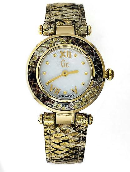 Guess Collection GC Ladychic - Reloj de pulsera para mujer (25 mm, correa de
