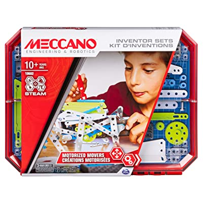 Meccano, Motorized Movers S.T.E.A.M. Building Kit with Animatronics, for Ages 10 & Up: Toys & Games