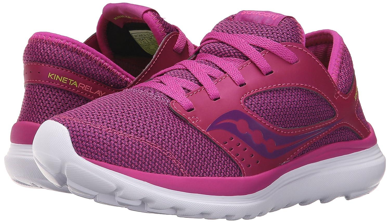Saucony Women's Kineta Relay Running Shoe B018FC5MBQ 7 B(M) US|Fuschia/Beer