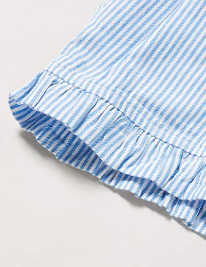 Tommy Hilfiger M/ädchen Ruffle Ithaca Stripe Short