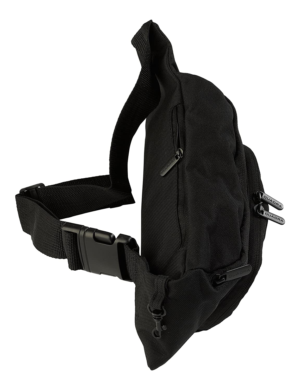 33a796fac038 Quadra bum bag, hip pouch Black: Amazon.co.uk: Luggage