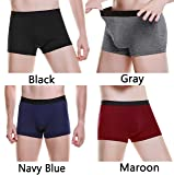 ASERLIN Men's 5-Pack Boxer Briefs Underwear Men's