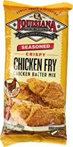 Louisiana Seasoned Crispy CHICKEN FRY Batter 9oz (Pack of 3)