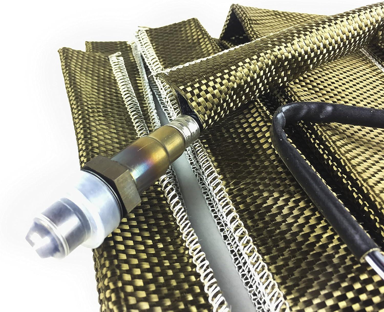 Thermal Zero High Temperature LAVA Heat Sleeve Exhaust Heat Aluminized Heat Sheath 2 X 36 Long