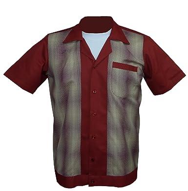 1950s/1960s Rockabilly,Bowling, Retro, Vintage Mens Shirt (Small)