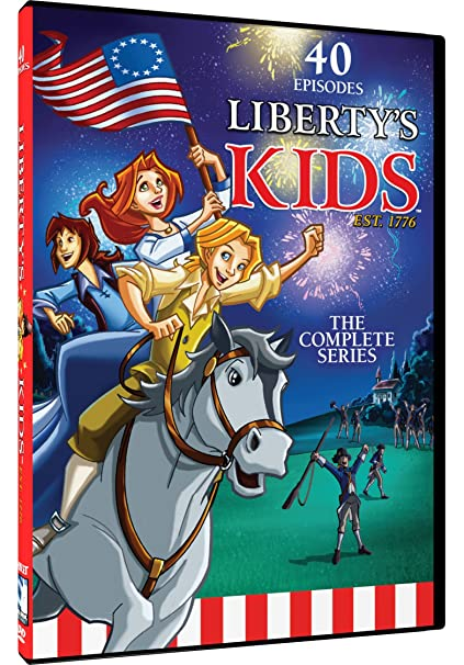 Amazon.com: Liberty's Kids - The Complete Series: Walter Cronkite ...