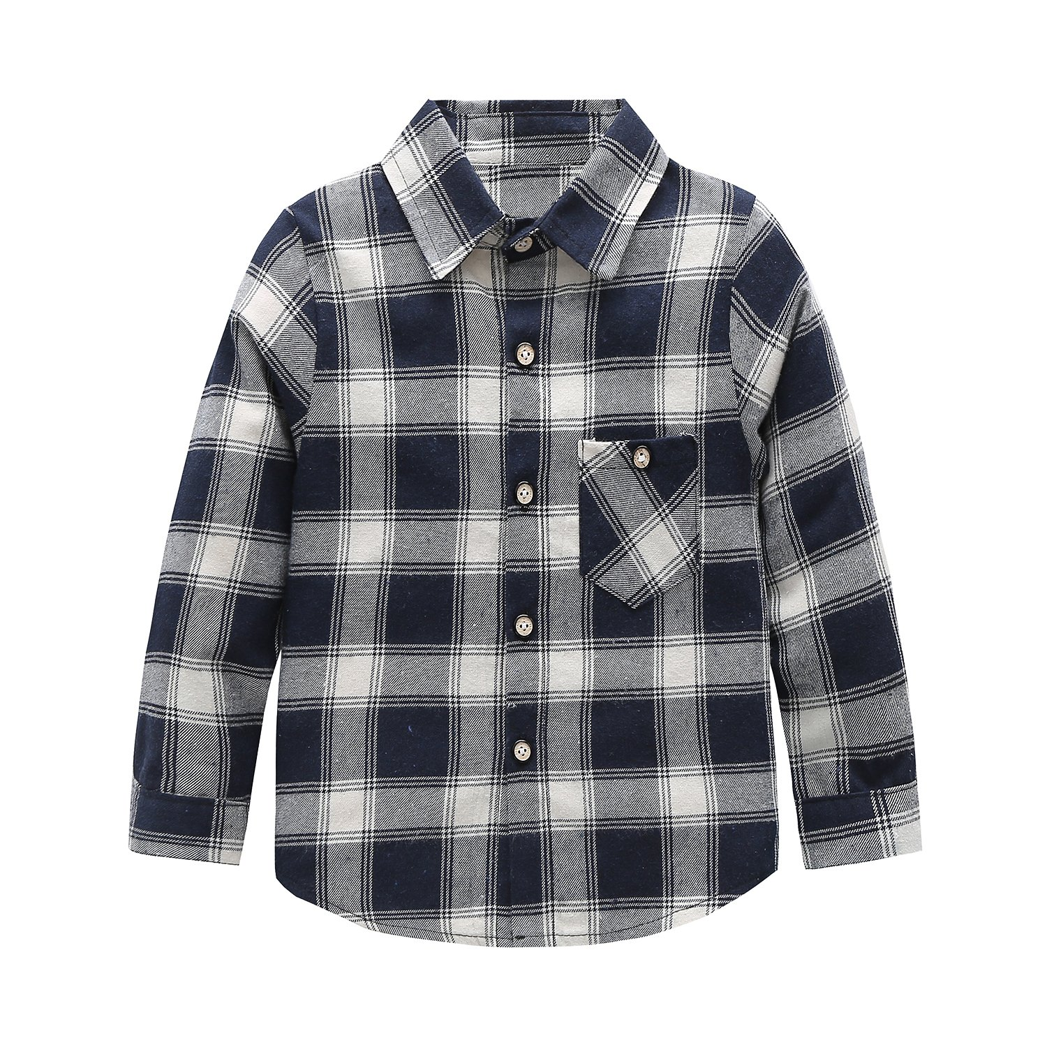 c2514895 Long-sleeve plaid shirt with button-front placket. Soft durable fabric  feels great against the skin comfortable to wear. Five plaid colors to  choose from, ...