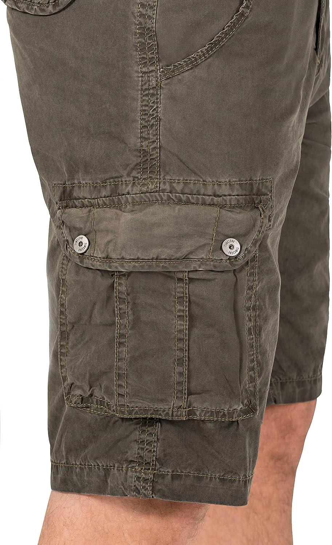 Belt Shorts Timezone Herren Loose Maguiretz Cargo Incl