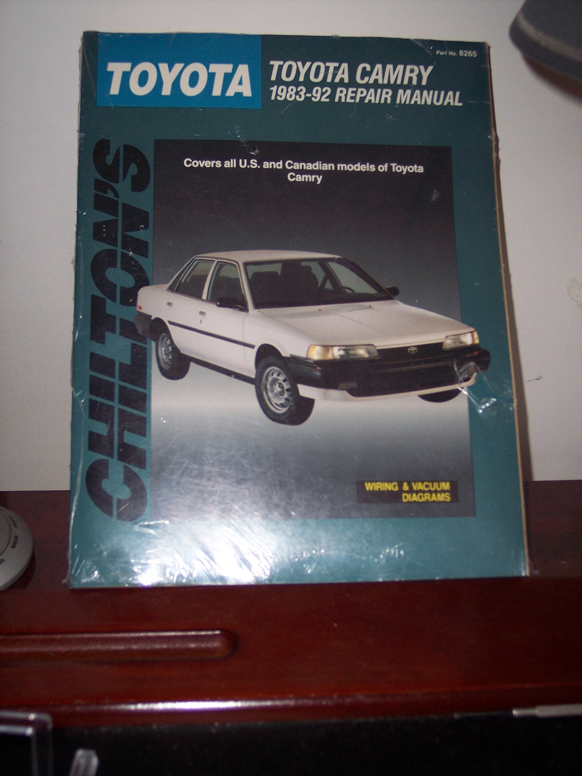 Chiltons Toyota Camry 1983 92 Repair Manual 1992 Electrical Wiring Diagram Guide Handbook Total Car Care Dean F Morgantini 9780801982651 Books