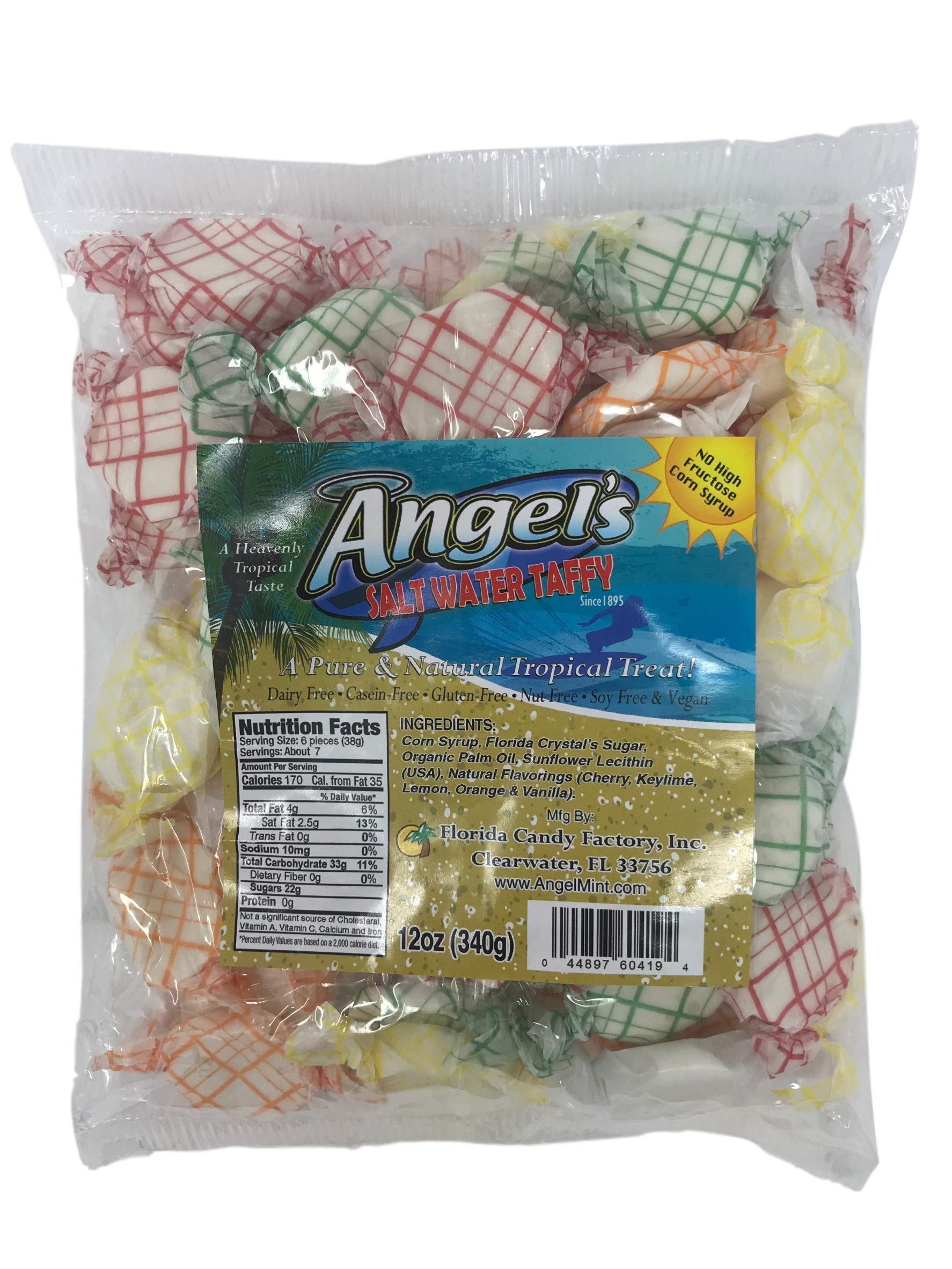 Angel's All ''Natural'' Salt Water Taffy