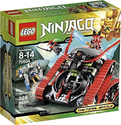 Amazon.com: LEGO Ninjago el Garmatrón 70504: Toys & Games