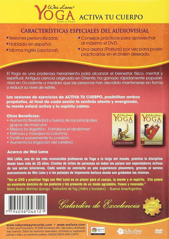 Amazon.com: Yoga Paso a Paso Activa Tu Cuerpo: Wai Lana ...