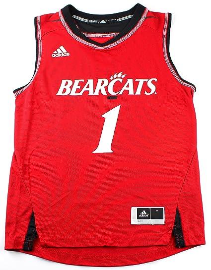 Cincinnati Bearcats  1 NCAA University of Cincinnati Youth Basketball Jersey  Red (Youth Large 14 101737118