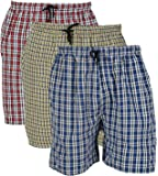 Rebizo Pure Cotton Chekered Multicolour Casual Shorts For Mens (Pack of 3) (Free Size28-32)
