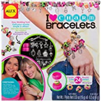 Alex DIY Wear I Heart Charm Bracelets Kids Art and Craft Activity