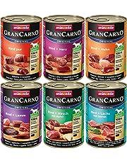 animonda GranCarno Hundefutter, Nassfutter für erwachsene Hunde, 6 x 400 g