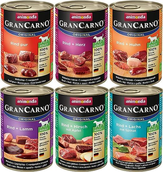 Animonda, Gran Carno, Comida para perros, Pack de 6: Amazon.es ...