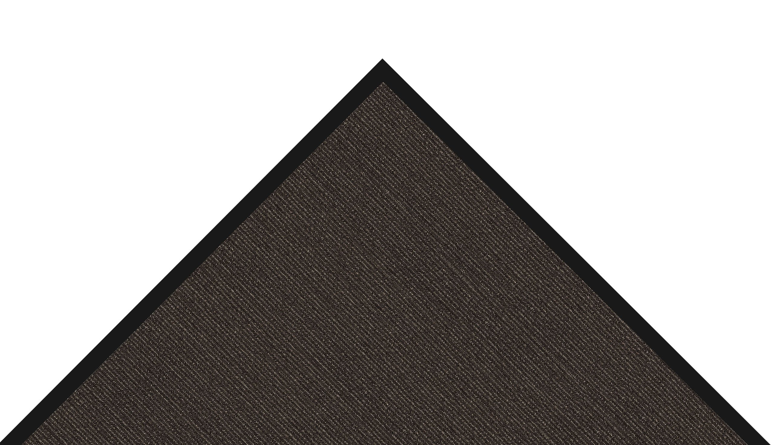 Notrax 146 Encore Entrance Mat, for Inside Foyer Area, 3' Width x 10' Length x 5/16'' Thickness, Black