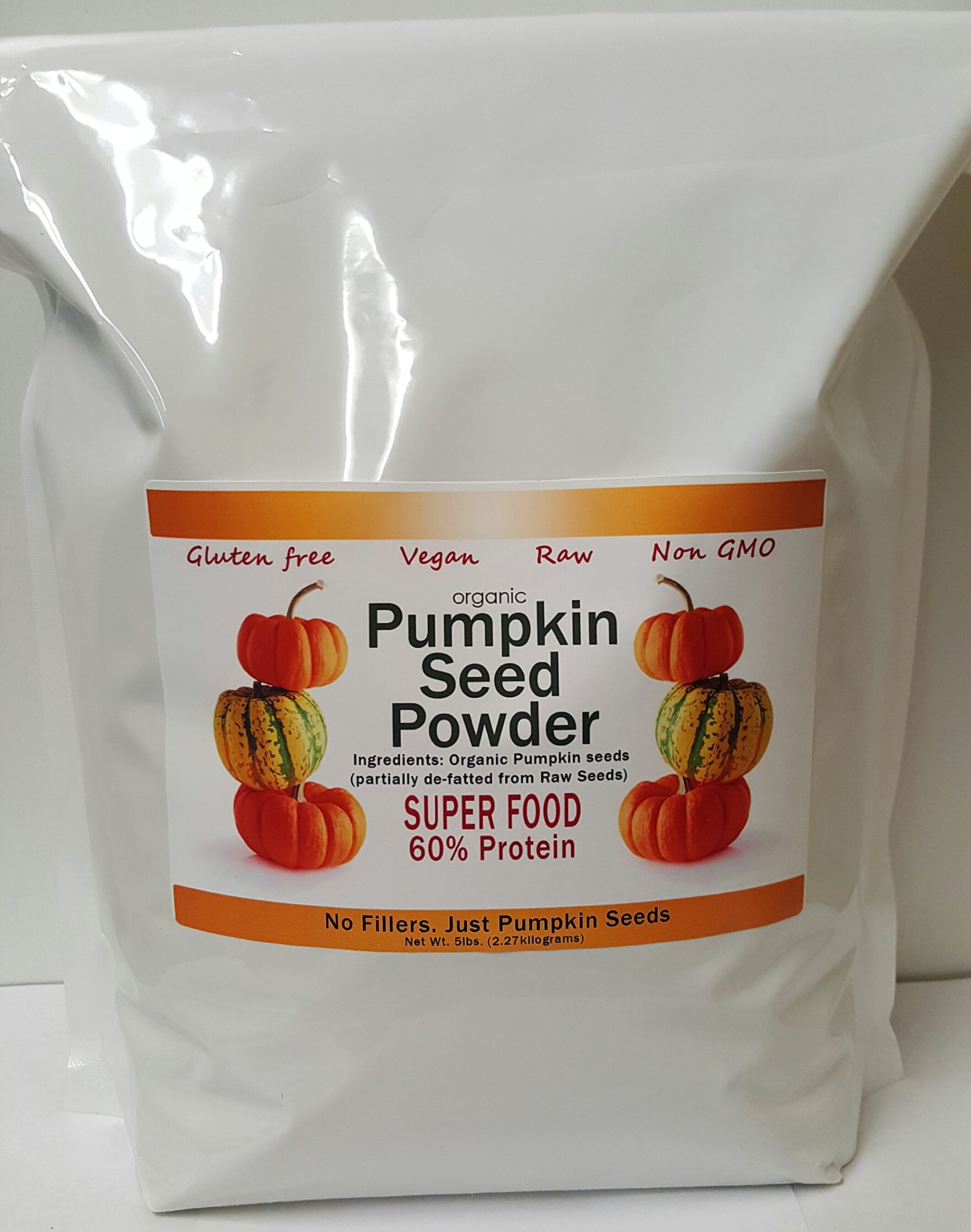 Pumpkin Seed Protein Powder - Organic- 5 lbs by Seed Oil Company (Image #1)