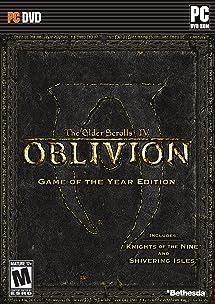 amazon com the elder scrolls iv oblivion game of the year rh amazon com Oblivion PC Demo oblivion pc game manual pdf