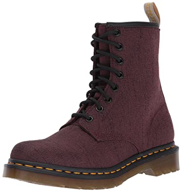 Dr. Martens Women's Vegan Castel Cherry Ankle Boot, Cherry Red, 3 Medium UK