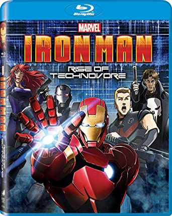 Iron Man: Rise of Technovore [Blu-ray]